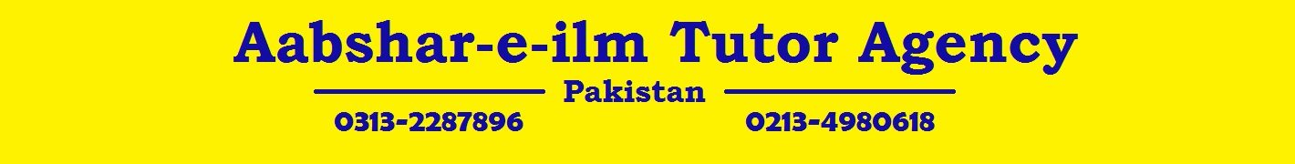 Karachi Tutor Academy 0313-2287896 Teacher Academy in